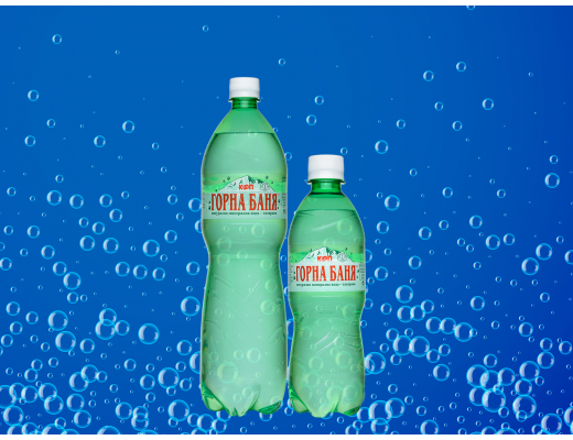 Natural mineral water - Aerated