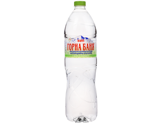 MINERAL WATER, GREEN LABEL - 1.5 L