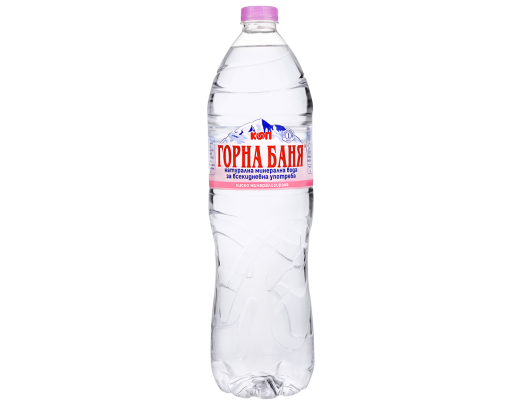 MINERAL WATER, Pink label - 1.5 L