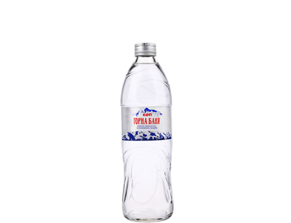 MINERAL WATER, GLASS BOTTLE - 0.500 L
