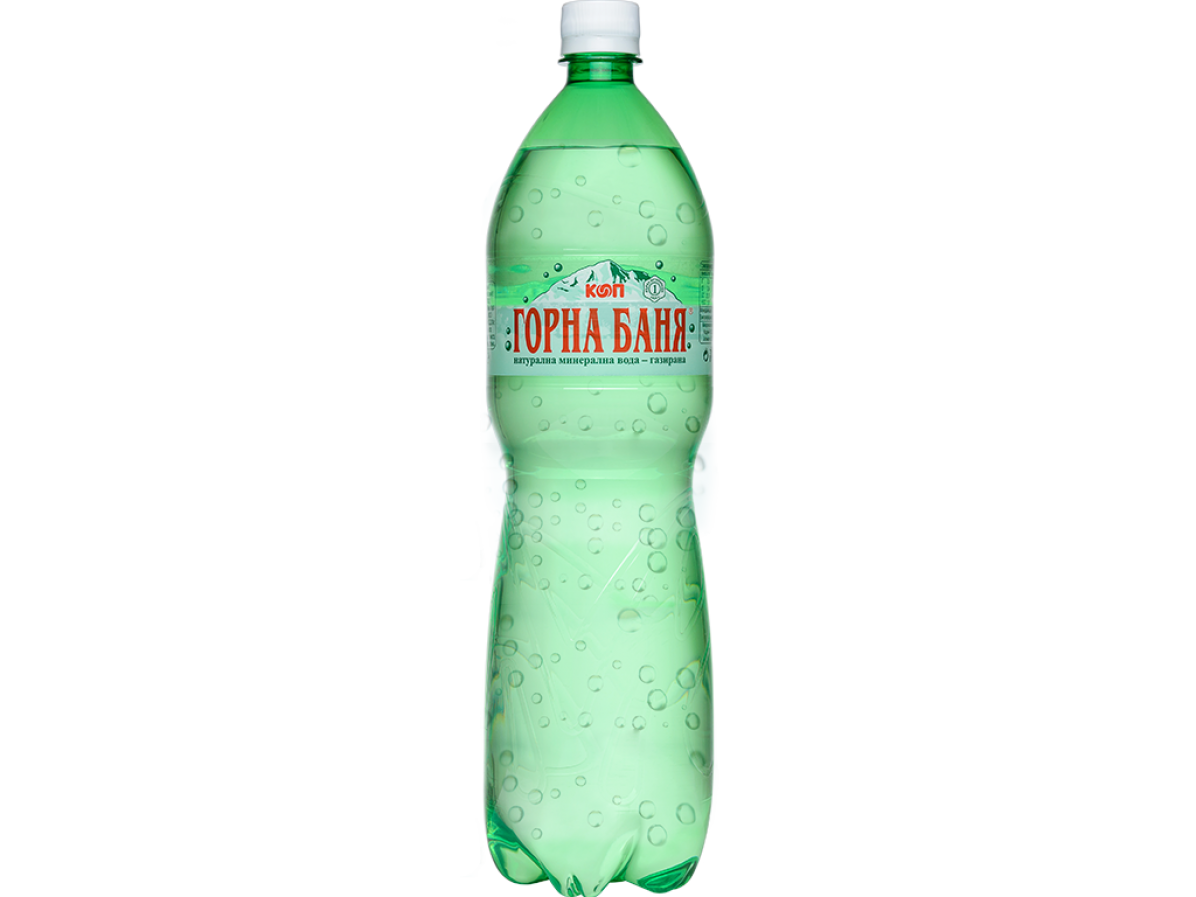 Mineral carbonated water - 1.5 L