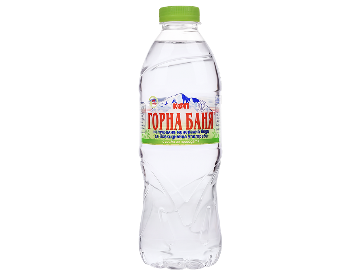 MINERAL WATER, GREEN LABEL - 0.500 L